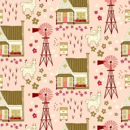 Homestead Life Shirley Poppy Homestead Vignette 51518-1