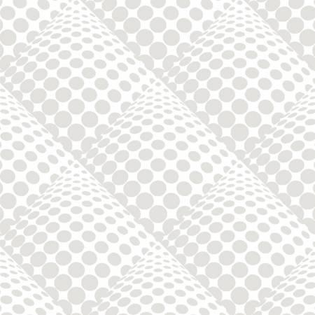 Pop Dot White on White Dot 3D