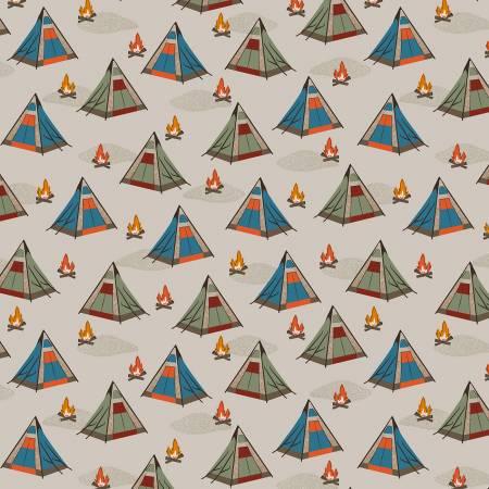 Bear Camp Khaki Tents