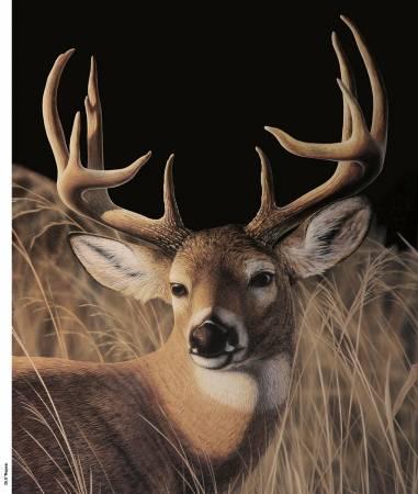 Multi Deer Panel 35in x 42in