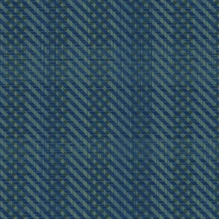 51573-1 Pottery Denim Herringbone