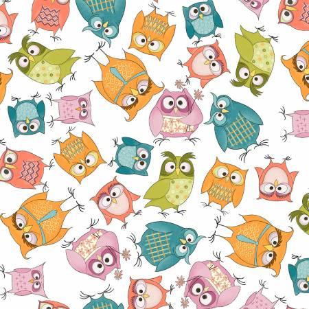 WHOOS HOO White Owlbert & Friends 51592-1