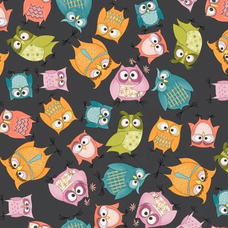 WHOOS HOO Charcoal Owlbert & Friends 51592-2