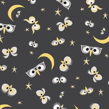 WHOOS HOO Charcoal Night Owl 51594-2