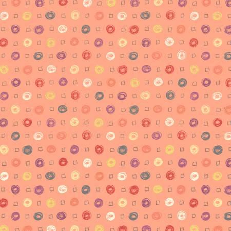 WHOOS HOO Coral Dots 51599-4