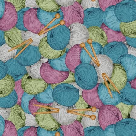 Purple Yarn Packed