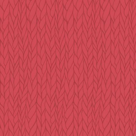 Knit N Purl - Yarn Stripe, Raspberry, 51609 - by Whistler Studios for Windham Fabrics