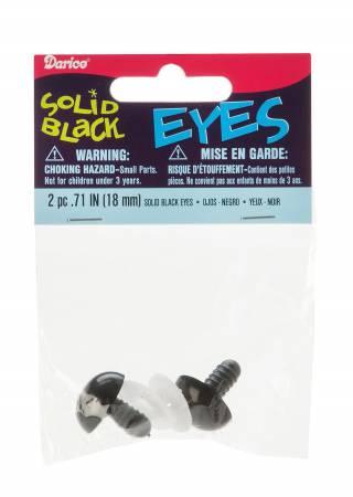 Animal Eye Safety 18mm Black