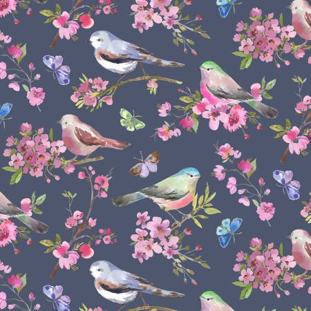 Blueberry Spring Birds