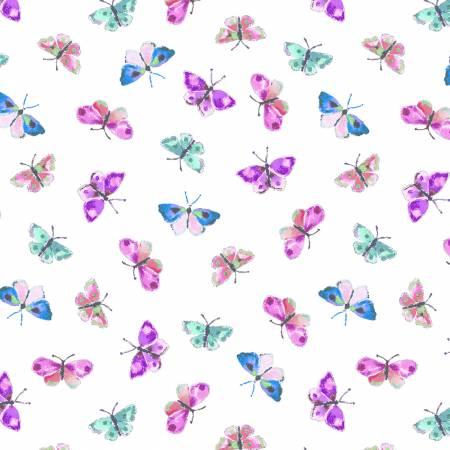 Serendipity White Flirty Wings