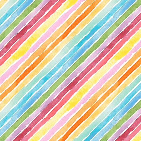 Rain or Shine Multi Rainbow Stripe