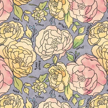 Potpourri-Lavender Bed of Roses-54-3