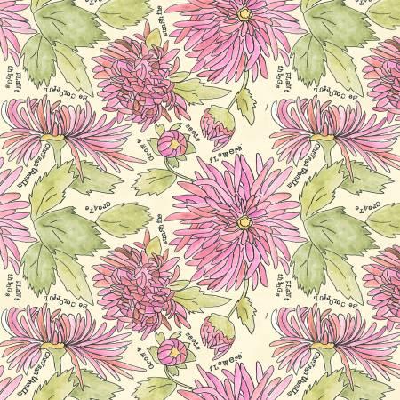 Chrysanthemums/Peony: Potpourri (Laura Heine)