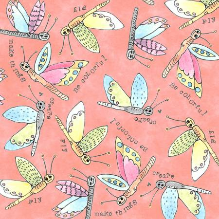 Windham Fabrics Nectar Flying Critter 51657-8