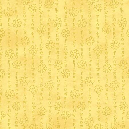 Windham Fabrics Sunshine Flower Stripe 51659-2