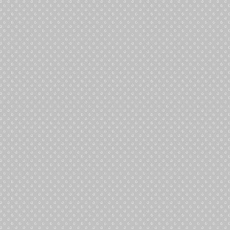 Windham Fabrics Simply White 51691-3 Grey Sketchy Circles