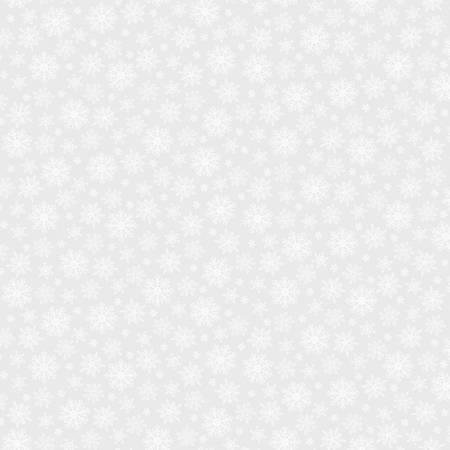 Simply White -  Snowflakes - Light Grey