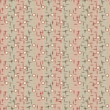 Red Textured Stripe