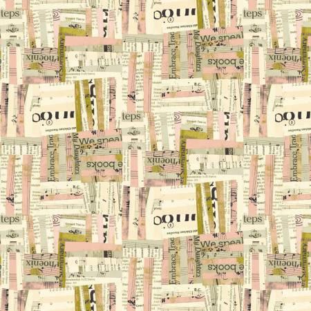 Windham Fabrics-  Pink Woven 51741-4