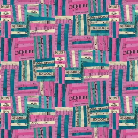 51741-6 Hot Pink Woven Wish Windham Fabrics
