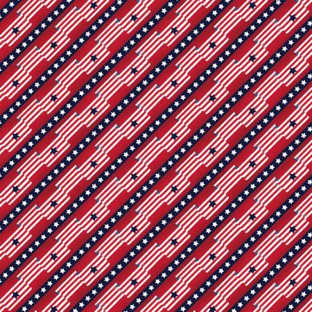 Pride & Honor 51765-2 Red Flag Stripe