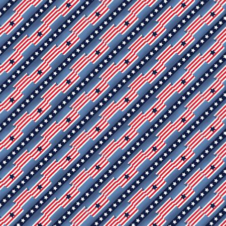 Blue Flag Stripe