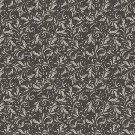 Marguerite 51800-1 Charcoal Scroll