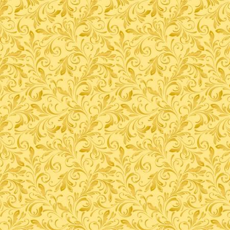 Marguerite 51800-2 Goldenrod Scroll