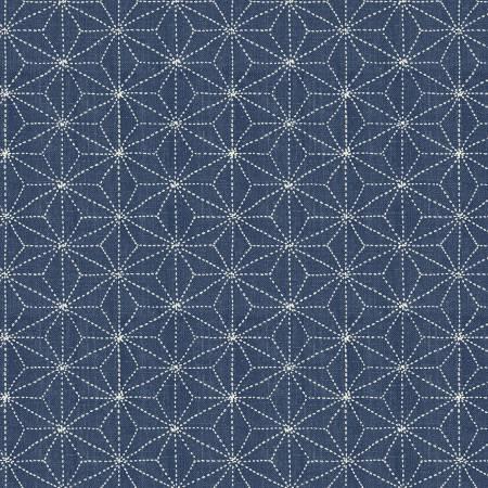 Sashiko by Whistler Studios - Stars - Denim