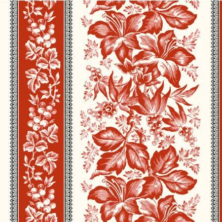 Scarlett Linen Lily Stripe 51845-1