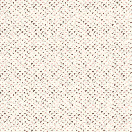 Scarlet - Linen Brush Stroke