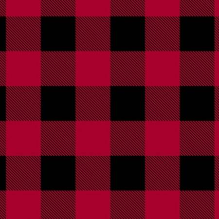 51869A-1 Red Dad Plaid Man Cave Windham Fabrics