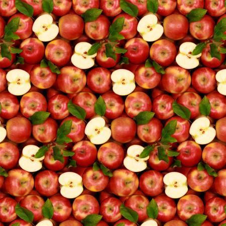 SPECIALTY FABRICS ROOM:  Apples - A La Carte by Whistler Studios
