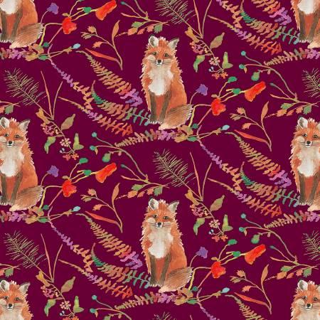 Fox Wood Curious Fox plum