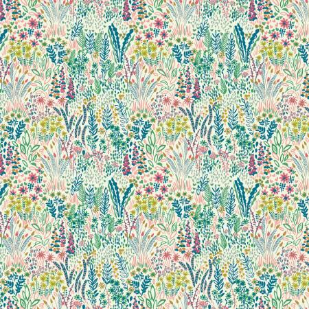 Windham White Garden Floral