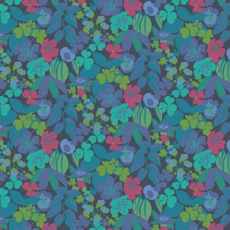 Solstice - Navy Garden Floral