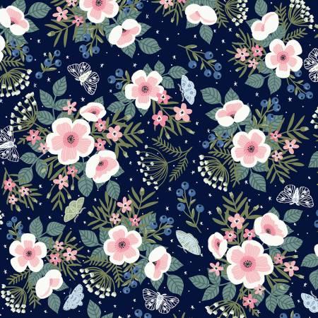 51941-1 Midnight Meadow Flowers