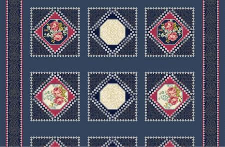 Vintage Crochet Panel 24 X 44
