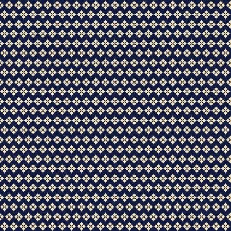 Navy Vintage Crochet