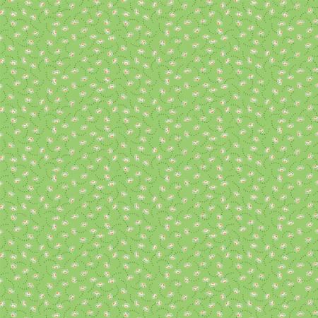 Storybook Daisy on Green