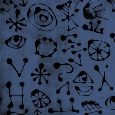 Marica Derse Blue One San jaun Miroglyphs