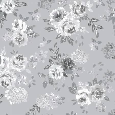 Colette - Grey In Full Bloom by Whistler Studios