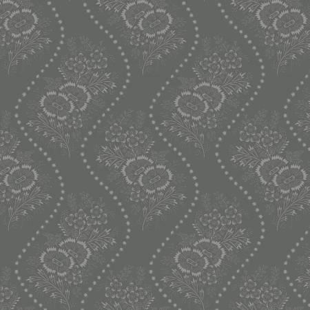 Blue Wallpaper Floral Reproduction