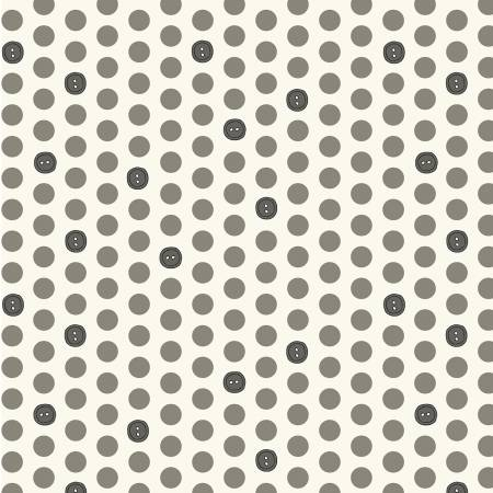 Bubbies Buttons and Blooms - Grey Button Dots