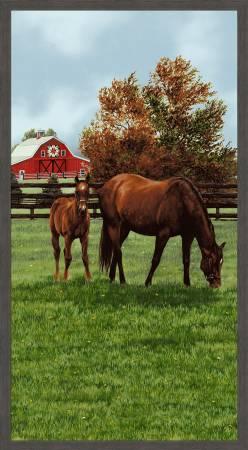 Multi Horse Scene Panel
