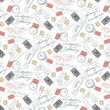 Merci Paris : Postale Multi - #52141-X - Whistler Studios