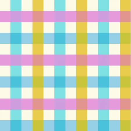 Pastel Plaid - Malibu by Heather Ross for Windham - 52148-2