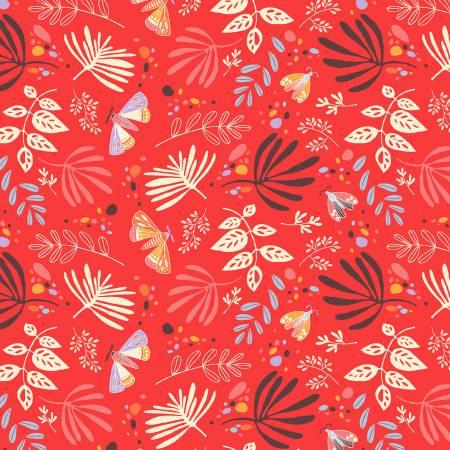 Aerial - Red/Orange Scatter