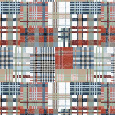 WIND- Across The USA Multi Country Plaid
