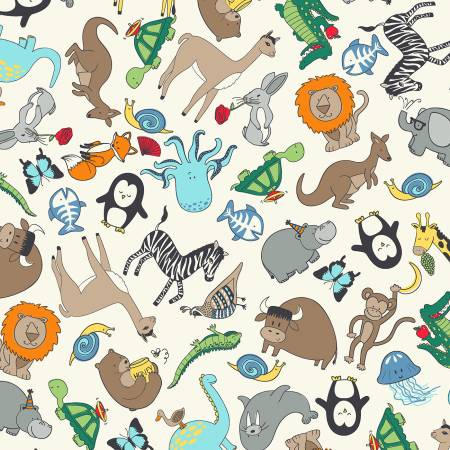 A to Zoo Ivory Animals 52212-1
